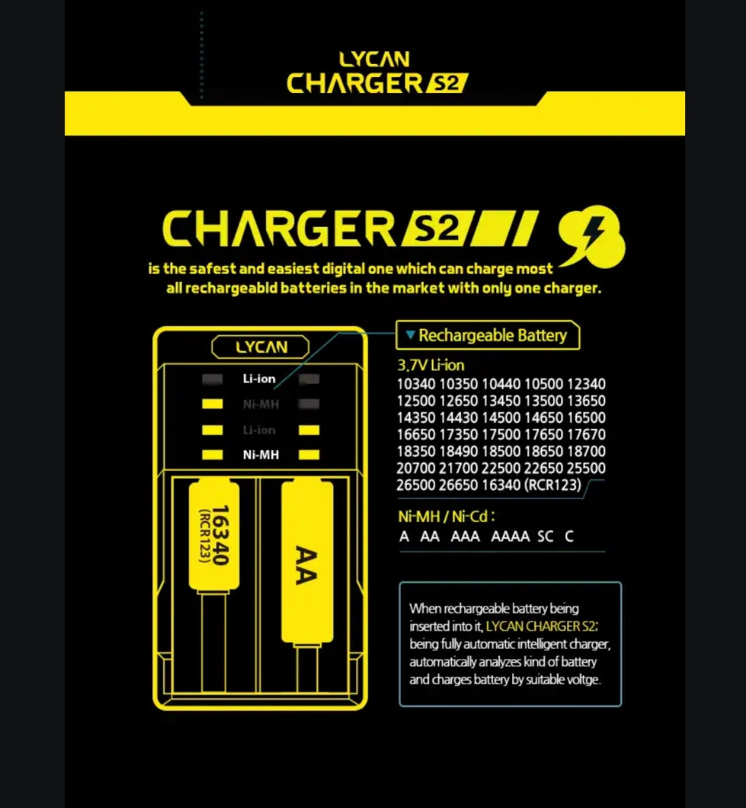 Lycan Charger S2