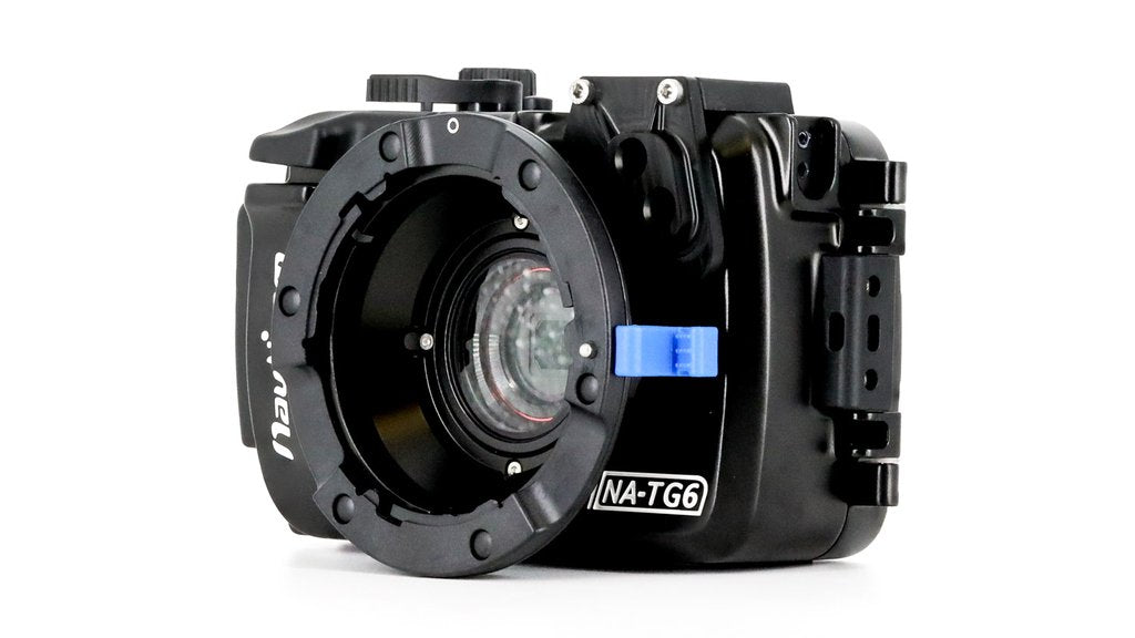 Nauticam NA-TG6 Housing for Olympus Tough TG-6 Camera (bayonet mount to use with WWL-C)