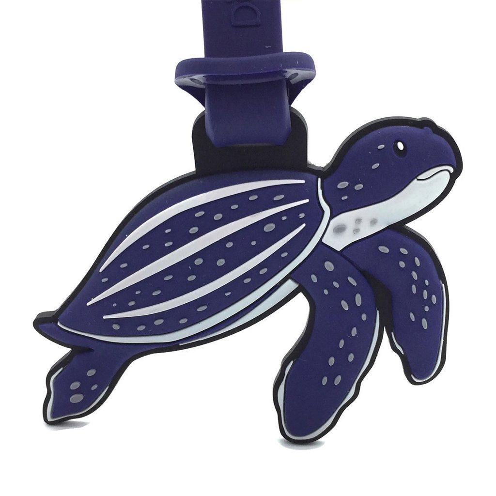 Dive Inspire Ma Faung Leatherback Turtle Luggage Tag