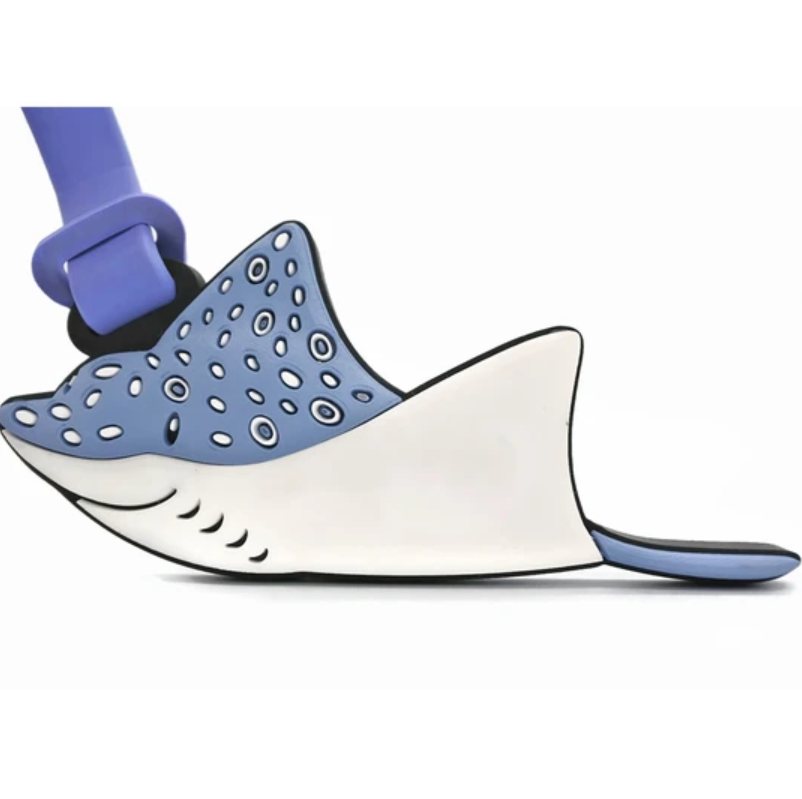 Dive Insipre Luggage Tag Earlgrey Eagle Ray