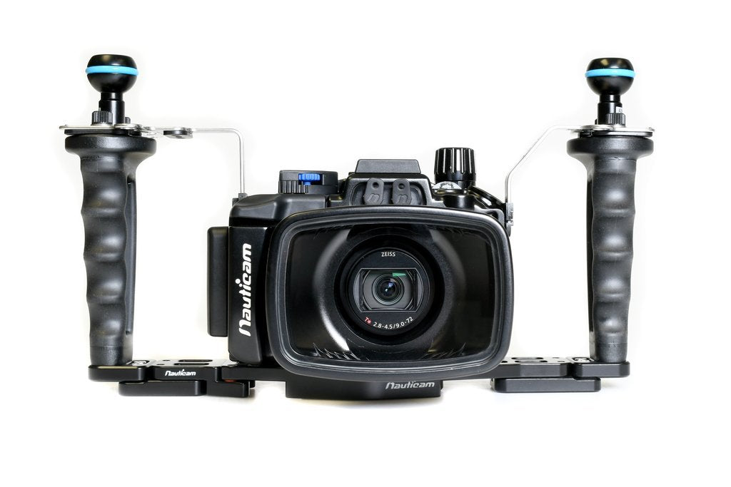 Nauticam NA-RX100VII Pro Package (Inc. flexitray, right handle, two mounting balls, M14 vacuum valve, shutter extension)