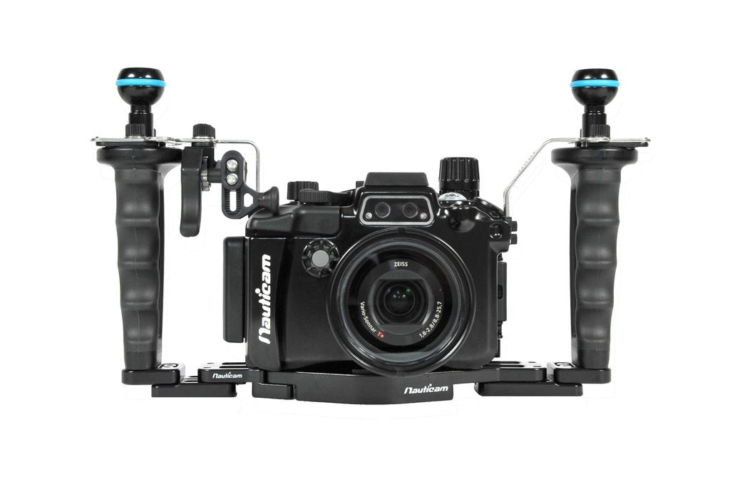 Nauticam NA-RX100V Pro Package (Inc. flexitray, right handle, two mounting balls, M14 vacuum valve, shutter extension)