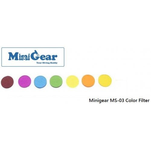 Minigear MS-03 Color Filter 3 Pieces
