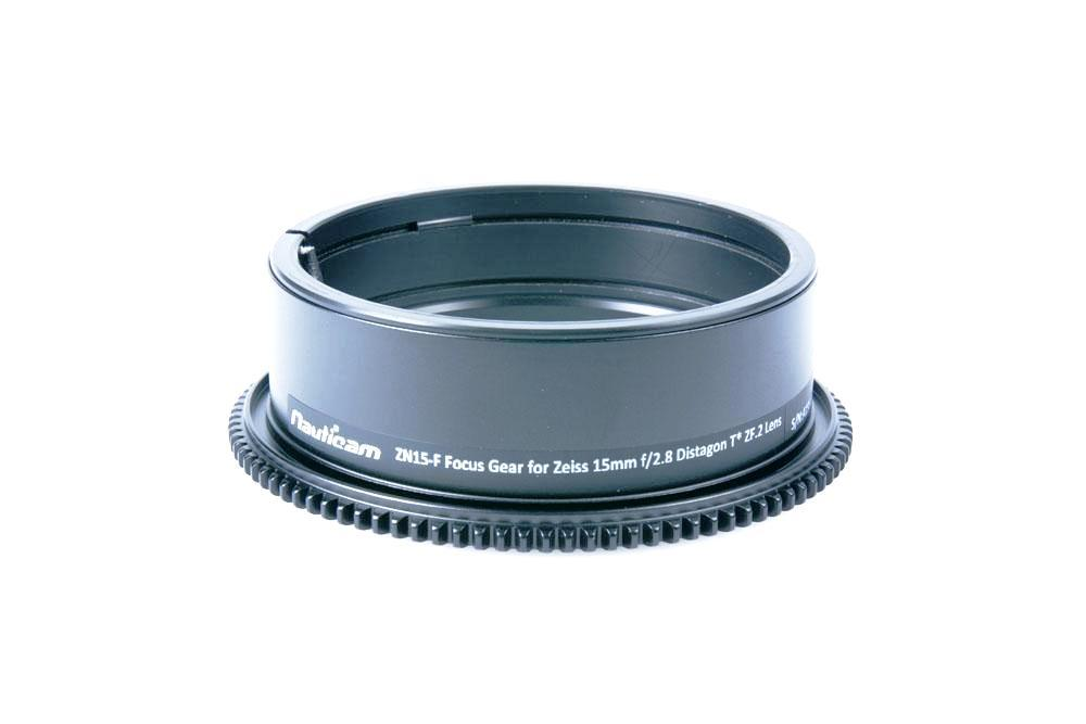 Nauticam ZN15-F Focus Gear for Zeiss Nikon 15mm f/2.8 Distagon T* ZF.2 Lens