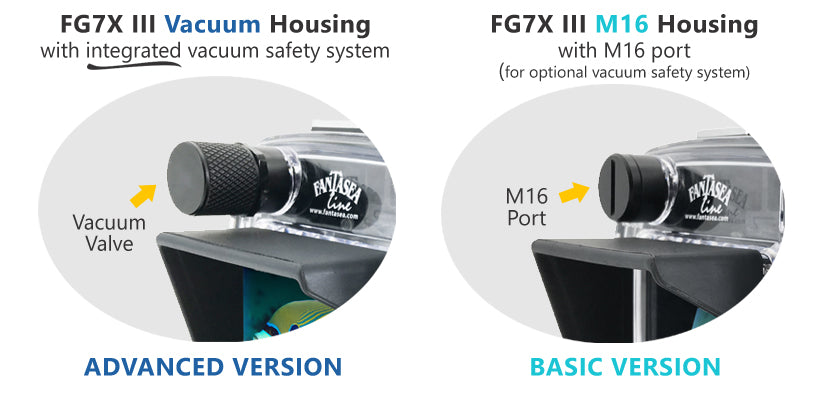 Fantasea FG7XIII Vacuum Housing for Canon G7X Mark III Camera