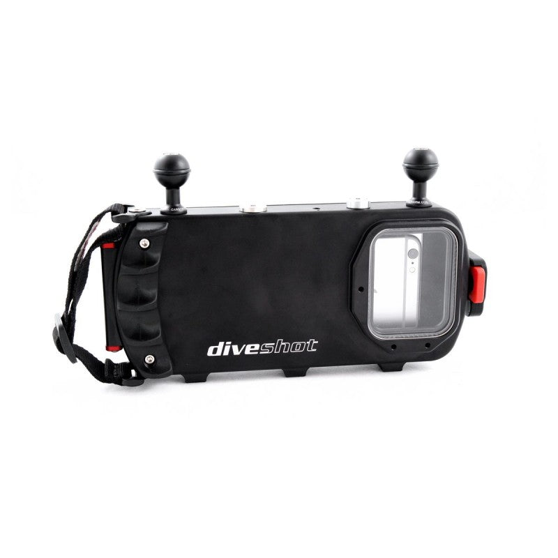 Carbonarm Diveshot x Smartphone Housing, 60 M with 2 Balls M6
