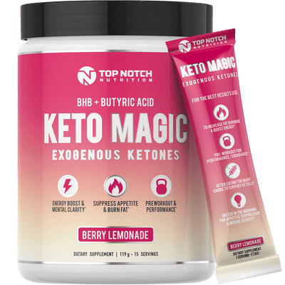 KETO MAGIC 2.0 (with Patented KETOBHBA®)