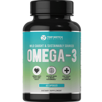 OMEGA-3 - High EPA/DHA - Top Notch Nutrition