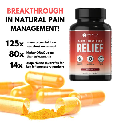 RELIEF (with Patented BDMC30®) - Top Notch Nutrition