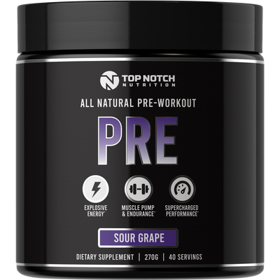 PRE - 40 Servings! - Top Notch Nutrition