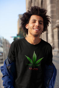 The 420 Red Leaf Shirt