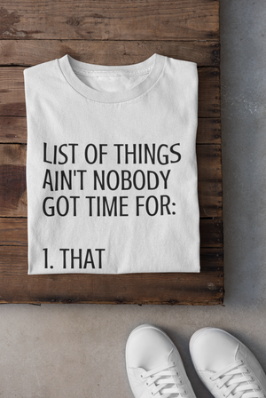 The List of Things Shirt