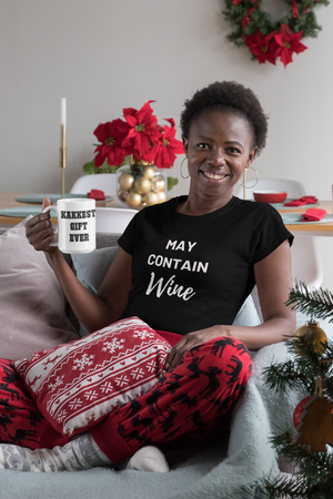 The May Contain Wine Shirt