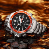 Citizen, Watch, DiverPromaster, Aqualand, BN2039-59E, Eco Drive, Gents, Depth, Indicator Watch