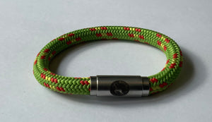 Boing, Bracelet, Chunky, Green with touch of Orange and Yellow Colour