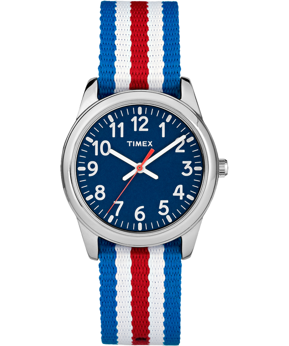 Timex, Time Machine, Kids, 30mm Nylon Analog Watch
