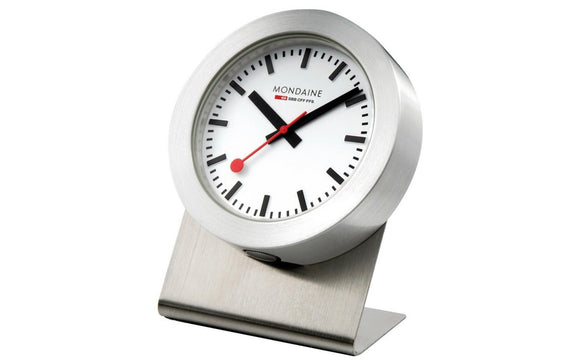 Mondaine Magnet Clock,  A660.30318.81SBB 50mm, Table and Kitchen Clock