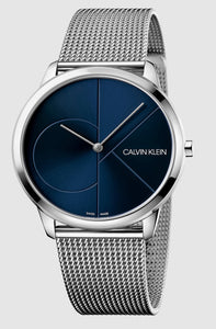 Calvin Klein, minimal, City, K3M2112N, 40.mm, Blue, Swiss Made
