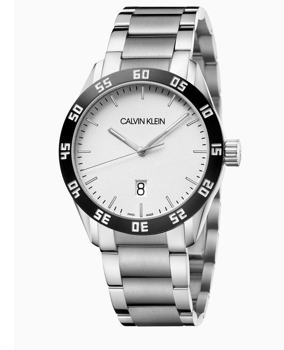 Calvin Klein, Watch, Compete, K9R31C41, 42mm Swiss Made