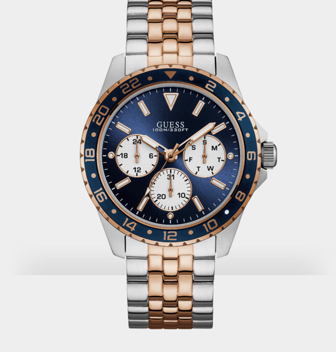Guess W1107G3 Odyssey Bi-Colour Rose Gold Watch