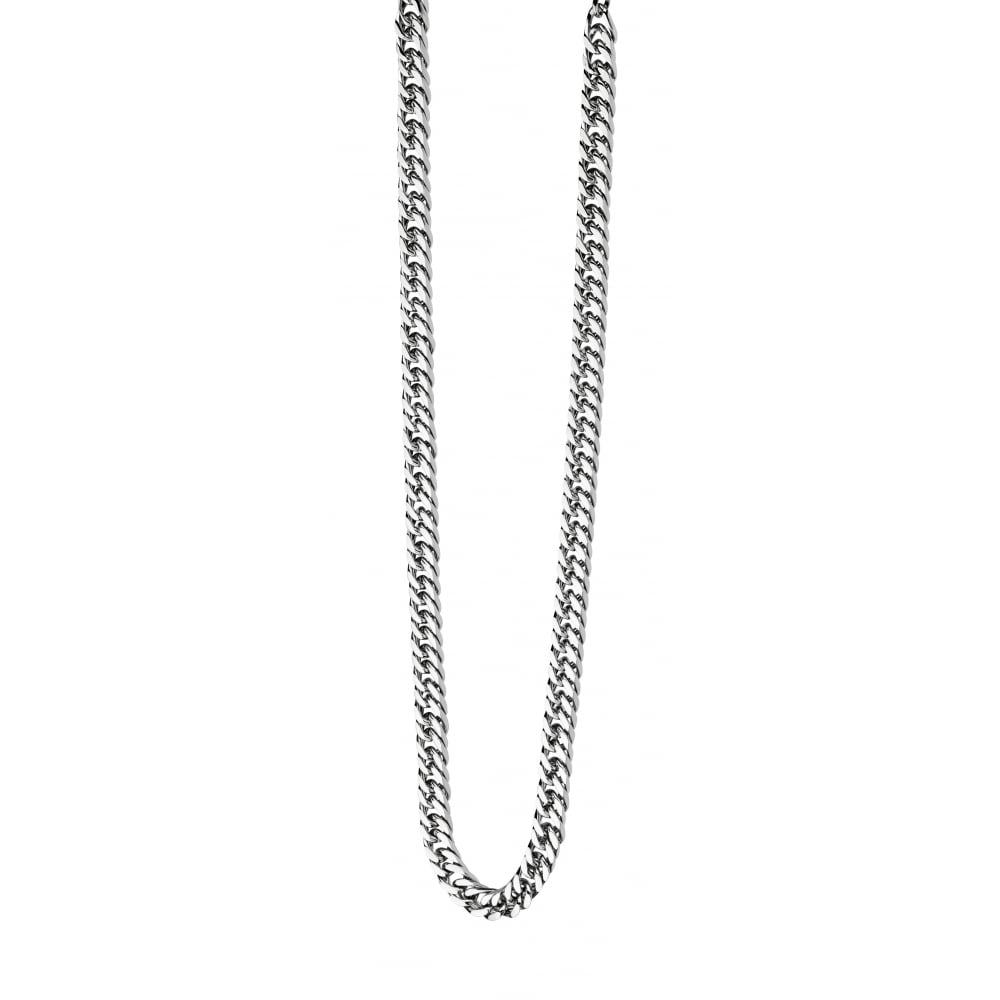 Fred Bennett, N3224, The Maverick, Heavy Flat Curb, chain, Necklace