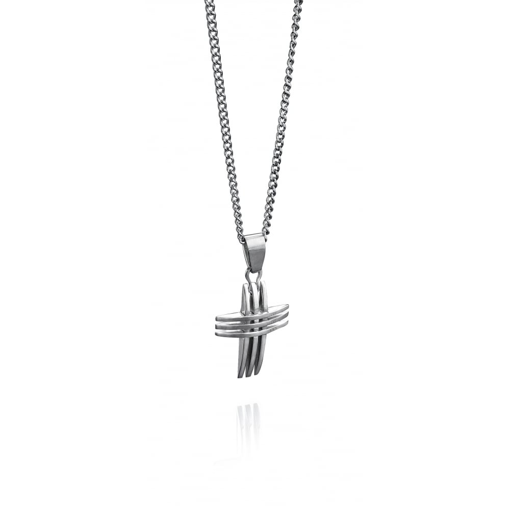 Fred Bennet, P2563, The Maverick, Steel Cross, Gents, Pendant, Jewellery