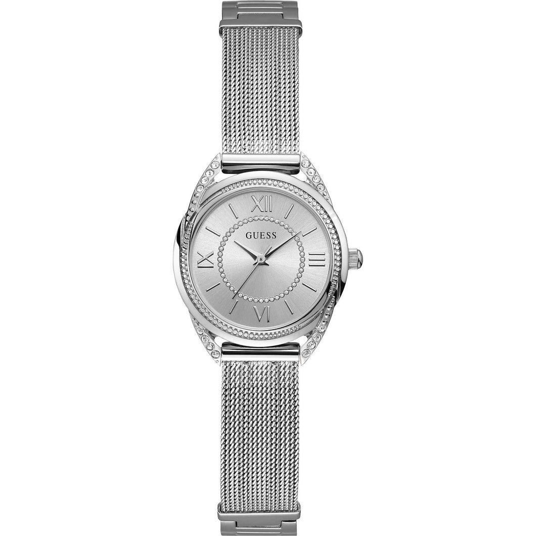 Guess, W1084L1, Whisper, Ladies, Silver, G-Links, Watch