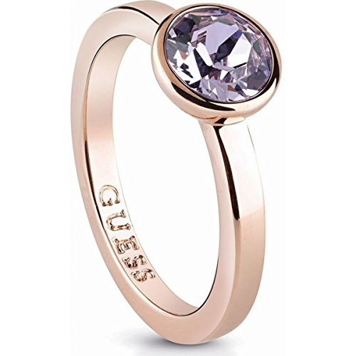 Guess Jewellery, UBR83031-50, Miami Ring, Ladies, Rose Gold Plated