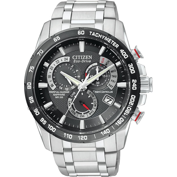 Citizen, A4008-51E Eco Drive, Gents, Perpetual Chronograph Watch