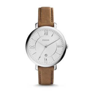 Fossil, ES3708, Jacqueline, Ladies, Leather Strap Watch