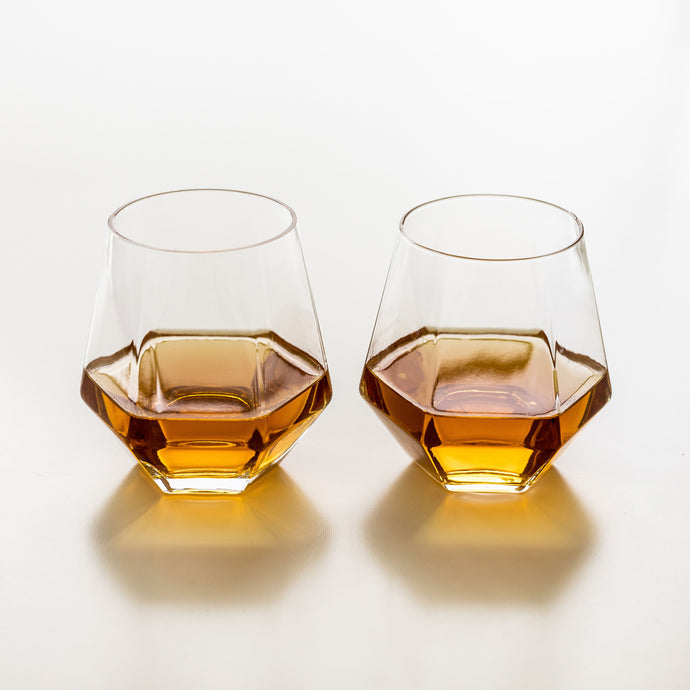 Diamant Set of 2 Drinking Glasses