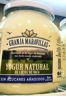 Yogur Natural (Granja Maravillas 730ml)