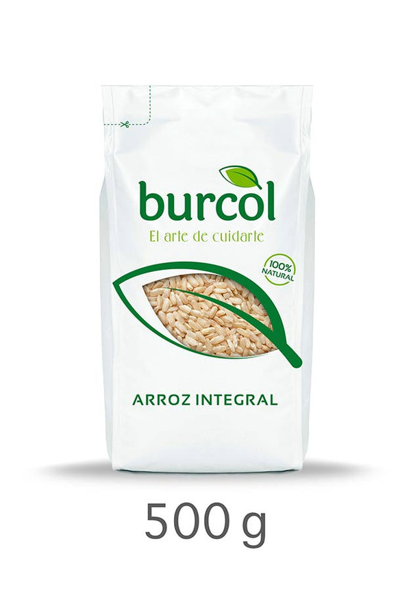 Arroz Integral 500gr (Burcol)
