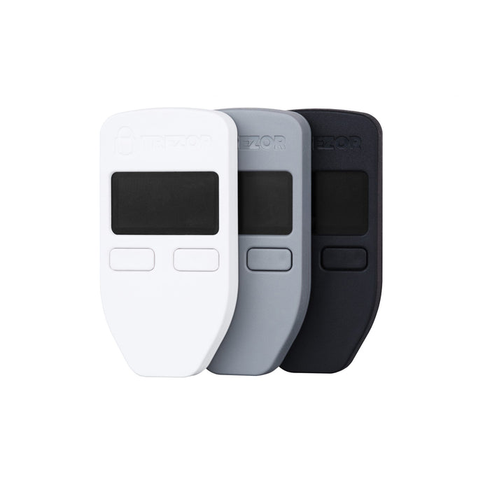 TREZOR Bitcoin Hardware Wallets