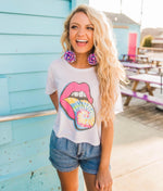 Rolling Stone Cropped Tee