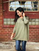 OLIVE Pocket Sweater PRE-ORDER