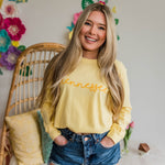 YELLOW Springtime Pastel TN Long Sleeve Tee