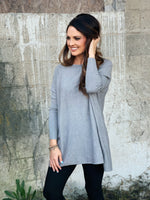 Pocket Sweater HEATHER GREY