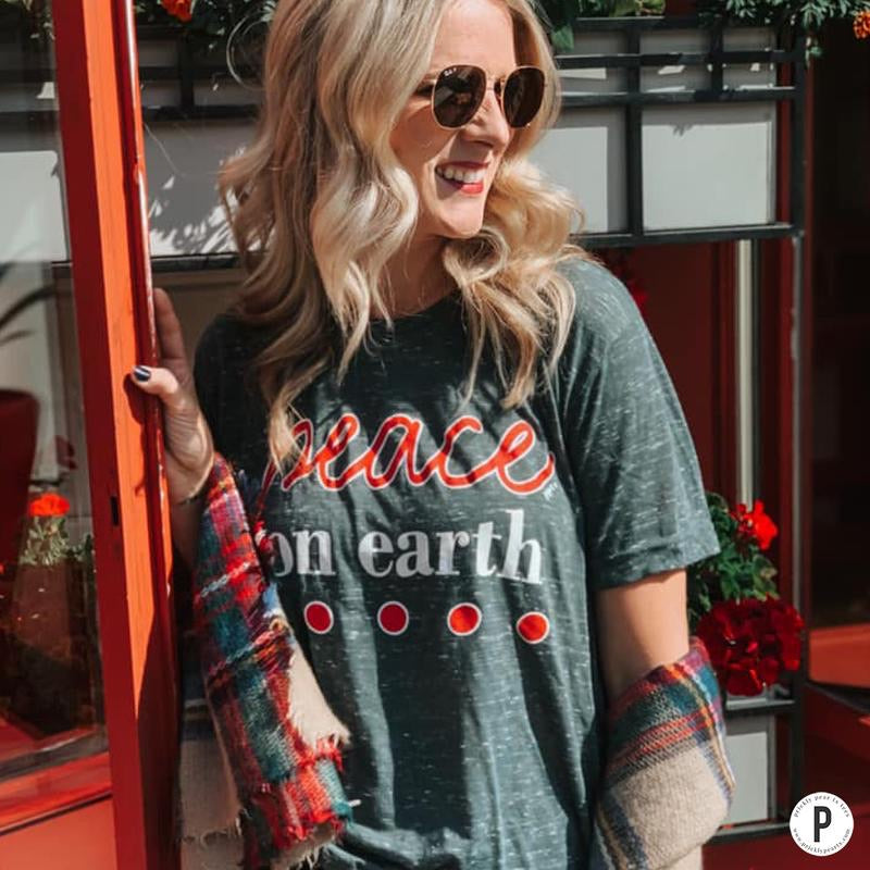 Peace On Earth Tee