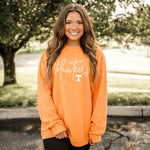 TN Corded Crew Sweatshirt ORANGE Pre-Order