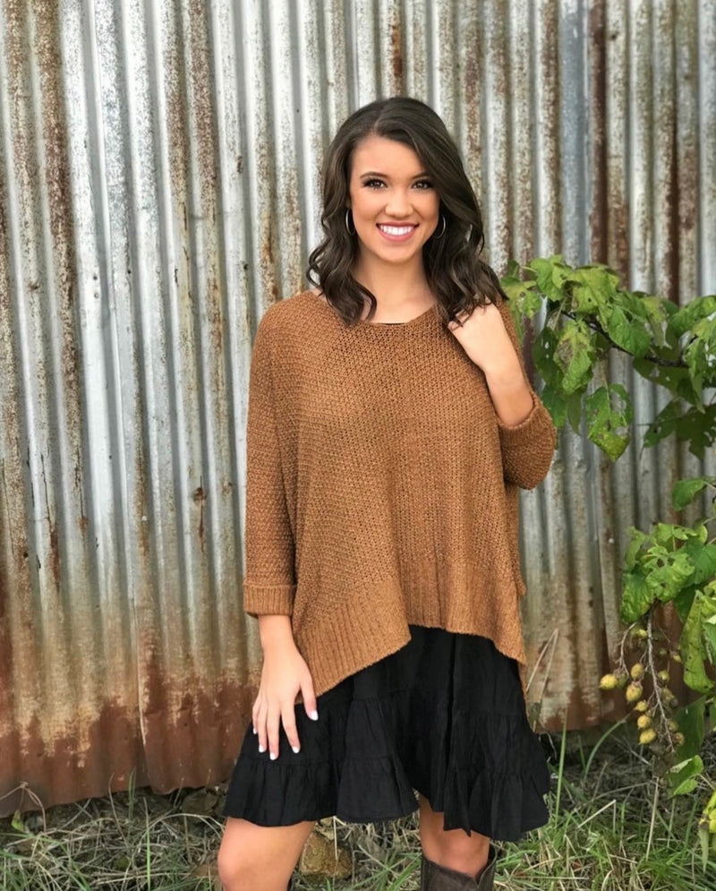 Hayride Sweater TOFFEE