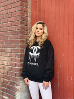 Big City Style Black&White Sweatshirt