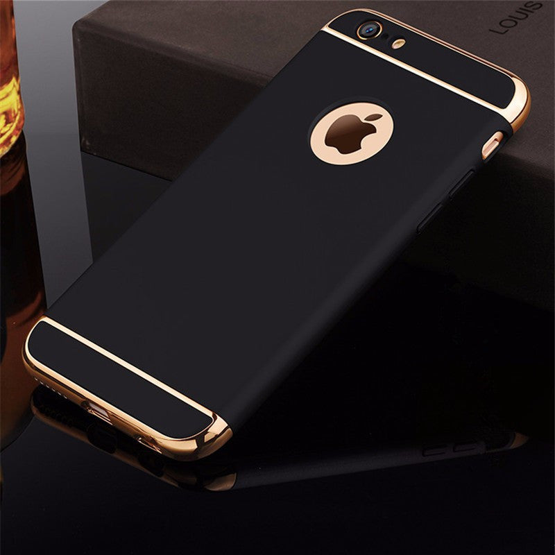Luxury Matte Hard 360 Protection Case For iphone