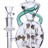 Stacked Swiss Recycler with Inverted Perc