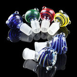 Fumed Dichro and Solid Color Cane Bowl