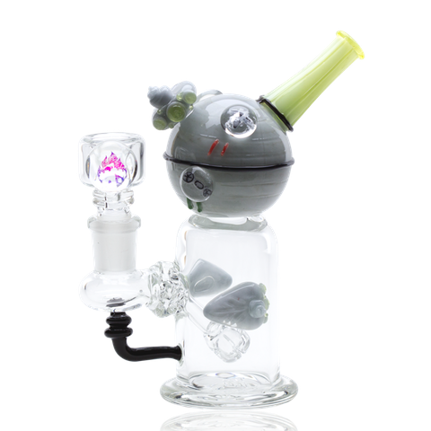Illuminati Baby Space Station Mini Rig Water Pipe