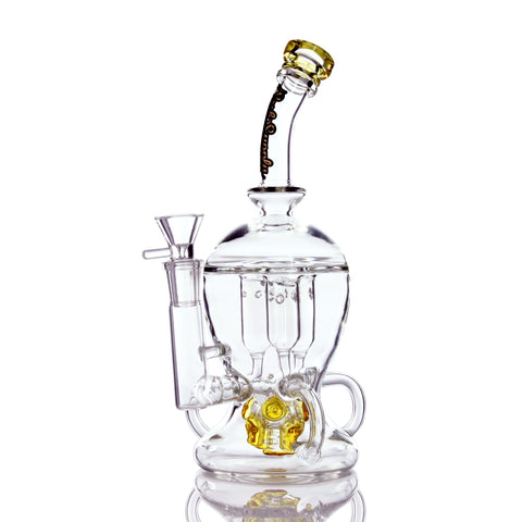 Sesh Supply Ophic Triple Internal Recycler Water Pipe