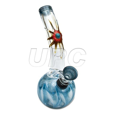 "8"" Wrap & Rake Glass Sun (Pull-Stem)"