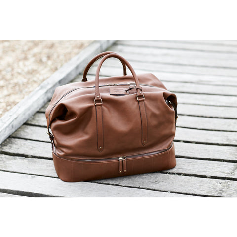 Heritage Leather Holdall