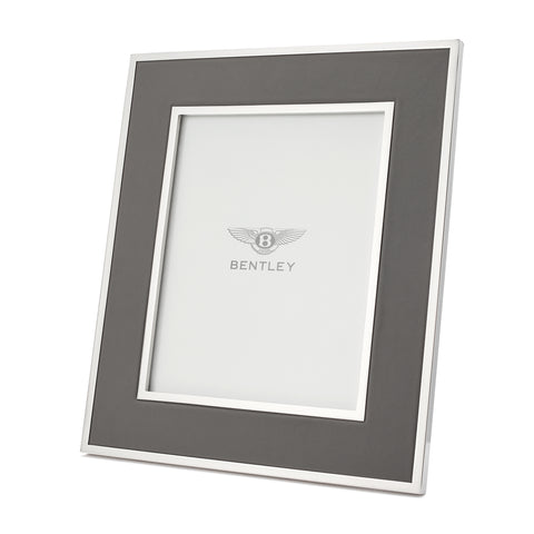 Leather Inlay Photo Frame